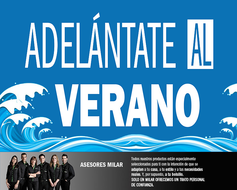 MAYO 13- ADELANTATE AL VERANO